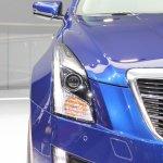 2015 Cadillac ATS Coupe headlamp at NAIAS 2014