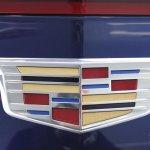 2015 Cadillac ATS Coupe logo at NAIAS 2014