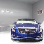 2015 Cadillac ATS Coupe nose at NAIAS 2014