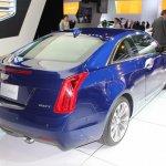 2015 Cadillac ATS Coupe rear three quarter at NAIAS 2014