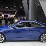 2015 Cadillac ATS Coupe side at NAIAS 2014