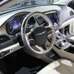 2015 Chrysler 200 at NAIAS 2014 dashboard driver side