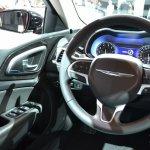 2015 Chrysler 200 at NAIAS 2014 driver view