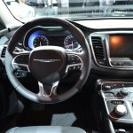 2015 Chrysler 200 cockpit at NAIAS 2014
