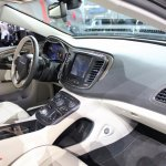 2015 Chrysler 200 dashboard at NAIAS 2014