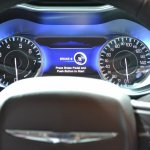 2015 Chrysler 200 instrument cluster at NAIAS 2014