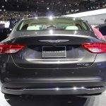 2015 Chrysler 200 rear fascia at NAIAS 2014