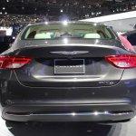 2015 Chrysler 200 rear fascia at NAIAS 2014