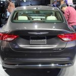 2015 Chrysler 200 rear view at NAIAS 2014