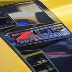 2015 Corvette Z06 Z06 badge at NAIAS 2014