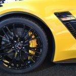 2015 Corvette Z06 air duct at NAIAS 2014