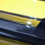 2015 Corvette Z06 badge at NAIAS 2014