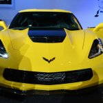 2015 Corvette Z06 front upclose at NAIAS 2014