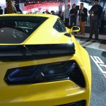 2015 Corvette Z06 rear section view at NAIAS 2014