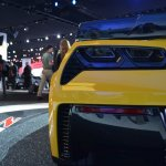 2015 Corvette Z06 taillight at NAIAS 2014