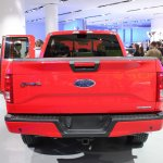2015 Ford F-150 FX4 rear at NAIAS 2014
