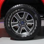 2015 Ford F-150 FX4 wheel at NAIAS 2014