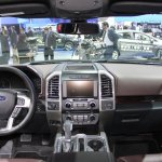 2015 Ford F-150 dashboard view at NAIAS 2014