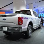 2015 Ford F-150 rear three quarters at NAIAS 2014