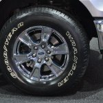 2015 Ford F-150 tire at NAIAS 2014