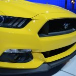2015 Ford Mustang GT at 2014 NAIAS grille