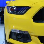 2015 Ford Mustang GT at 2014 NAIAS headlight 2