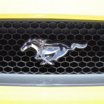 2015 Ford Mustang GT at 2014 NAIAS logo 2