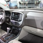 2015 GMC Canyon dashboard at NAIAS 2014