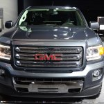 2015 GMC Canyon front at NAIAS 2014