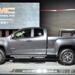 2015 GMC Canyon side view at NAIAS 2014