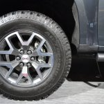 2015 GMC Canyon wheel at NAIAS 2014