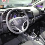 2015 Honda Fit at 2014 NAIAS cabin