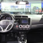 2015 Honda Fit at 2014 NAIAS dash