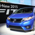 2015 Honda Fit at 2014 NAIAS front quarter