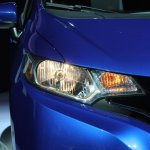 2015 Honda Fit at 2014 NAIAS headlight