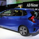 2015 Honda Fit at 2014 NAIAS rear quarter