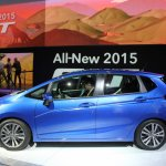 2015 Honda Fit at 2014 NAIAS side