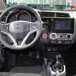 2015 Honda Fit at 2014 NAIAS steering