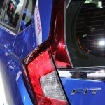 2015 Honda Fit at 2014 NAIAS taillight