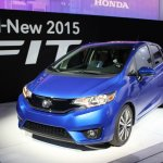 2015 Honda Fit at 2014 NAIAS
