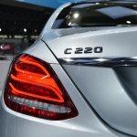 2015 Mercedes-Benz C Class at 2014 NAIAS C220