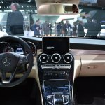2015 Mercedes-Benz C Class at 2014 NAIAS dash