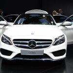 2015 Mercedes-Benz C Class at 2014 NAIAS doors open