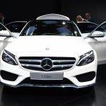 2015 Mercedes-Benz C Class at 2014 NAIAS doors open