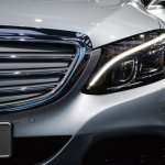 2015 Mercedes-Benz C Class at 2014 NAIAS front 2