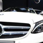 2015 Mercedes-Benz C Class at 2014 NAIAS front fascia