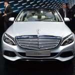 2015 Mercedes-Benz C Class at 2014 NAIAS front