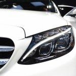 2015 Mercedes-Benz C Class at 2014 NAIAS headlight