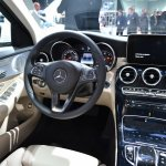2015 Mercedes-Benz C Class at 2014 NAIAS interior