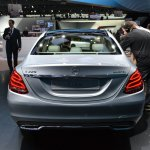 2015 Mercedes-Benz C Class at 2014 NAIAS rear 5